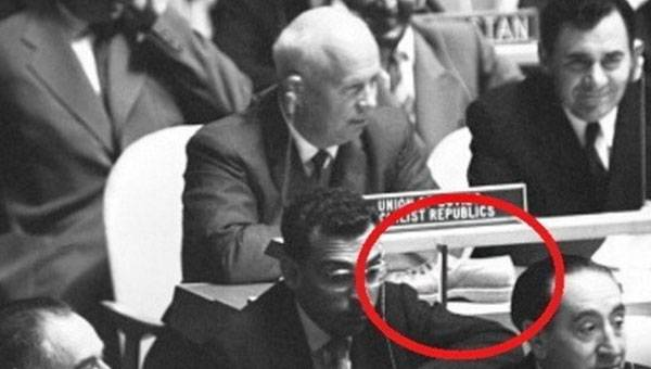 Khrushchev Surprised World With His Speech and His Shoe at UN Assembly