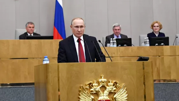 Putin Admits his Participation in Next Presidential Election in Russia
