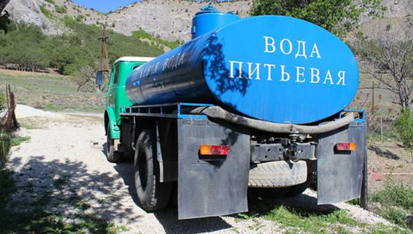 What Kind of Water will Crimea Residents Drink?